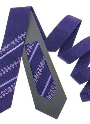 Оригінальна вишита краватка №797