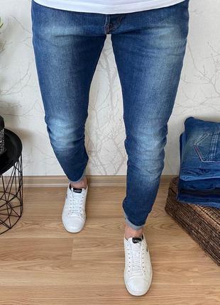 Мужские зауженные джинсы h&m
