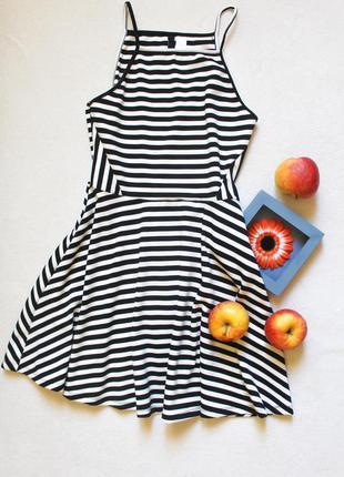 Полосатое платье от h&m, размер м