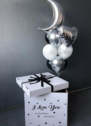 Подарок на день влюбленных,14 февраля,любимой,мужу,коробка с ш...