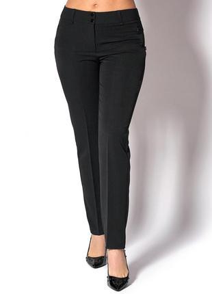 Женские классические черные брюки 3911