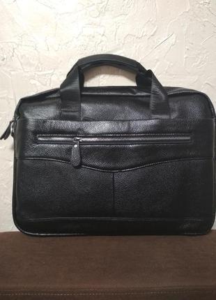 Мужской кожаный портфель шкіряний портфель чоловічий