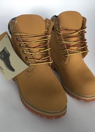 Ботинки timberland на меху