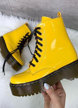 """Ботинки """"dr. martens"""" из натуральной кожи в пяти расцветках"""
