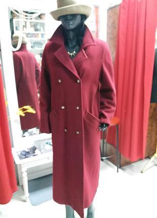 Пальто шерстяное !!!весна 2020 !!! over size