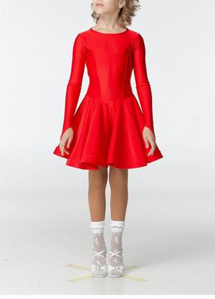 Распродажа! бейсик танцевальный рейтинговое платье, р.42, рост...