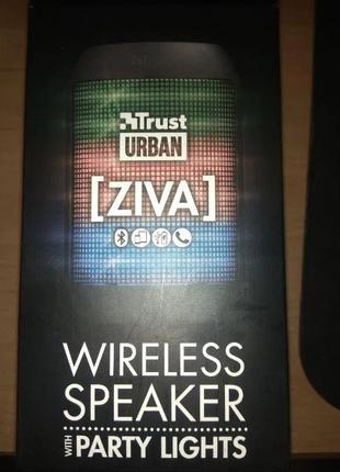 Беспроводная Bluetooth-колонка Trust Urban Ziva (3 Вт)