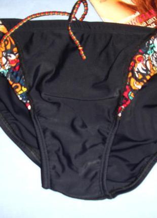 Мужские плавки speedo черные для плаванья купания размер 46 пл...