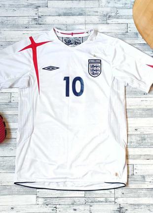Футболка сборной англии майкл оуэн 10 официальный продукт x-st...
