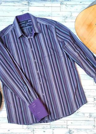 Рубашка мужская с запонками marks&spencer autograph оригинал