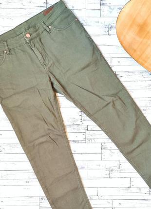 Зелёные джинсы asos хаки оригинал