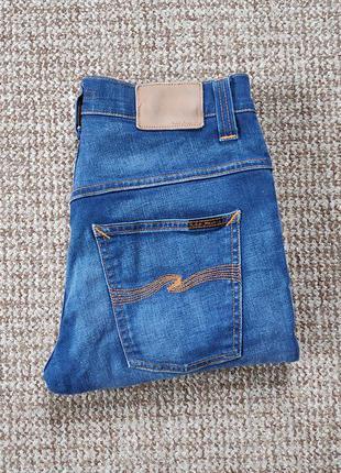 Nudie jeans thin finn slim fit джинсы оригинал (w30 l32)