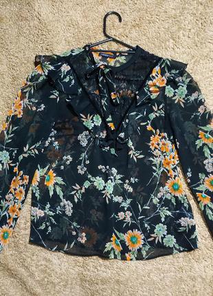 Очень красивоя стильноя блуза marks& spencer❤