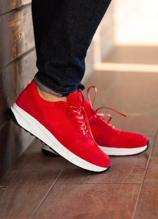 Кроссовки south soft step red