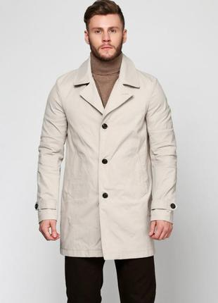 Tommy hilfiger мужское пальто, плащ, тренч, оригинал