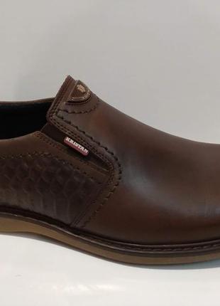 Туфли кожаные мужские kristan brown
