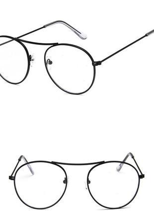 Очки с прозрачной линзой 460н