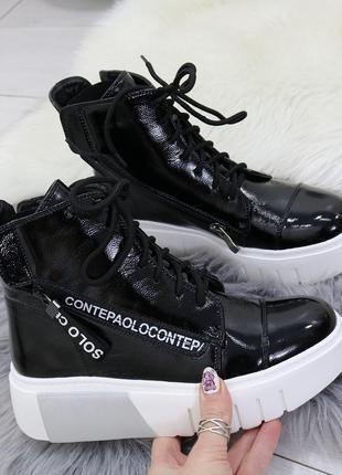 Весенние женские ботинки