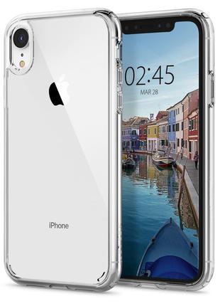 Чехол Spigen Ultra Hybrid для iPhone XR Crystal Clear