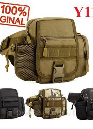 Сумка поясная мужская тактическая слинг edc Protector Plus Y11...
