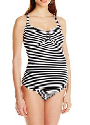 Купальник сдельный для беременных размер 52 / 18 в бассейн на ...