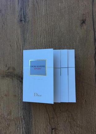 Dior homme sport туалетная вода(пробник)