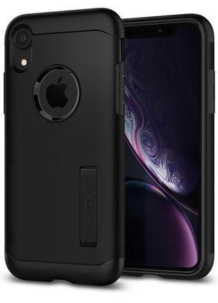 Чехол Spigen Slim Armor для iPhone XR  Black
