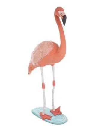 Розовый плюшевый фламинго Melissa & Doug