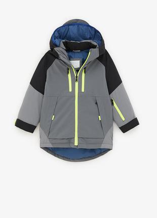 Непромокаемая куртка zara р. 116, 128 оригинал