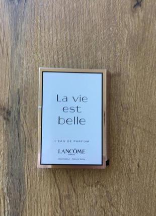 Lancome la vie est belle(пробник)