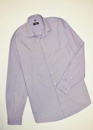Мужская рубашка в полоску длинный рукав, disley