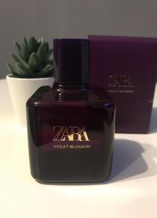 Zara violet blossom духи парфюмерия туалетная вода