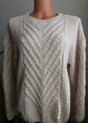 Шикарный свитер, джемпер оверсайз,пуловер primark