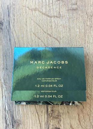 Marc jacobs decadence пробник