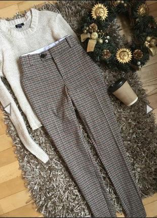 Шикарні брюки в клітинку від mango {акція!!!! 1   1= 3️⃣ 🎁🎉}