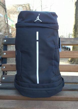 Баскетбольный рюкзак с карманом для мяча air jordan black