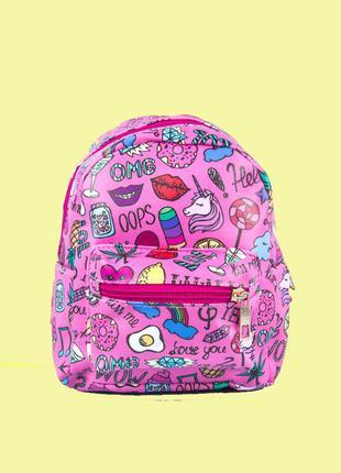 Рюкзак детский с принтом единорог