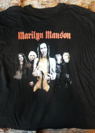 Рок-футболка MERILYN MENSON