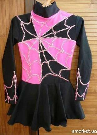 Платье для фигурного катания и гимнастики