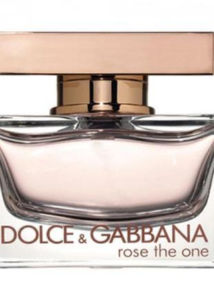 Dolce & gabbana rose the one парфюмированная вода 110 ml
