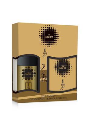 Подарочный набор Astra 1 Men, схожесть с Paco Rabanne 1 Million