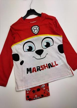 Детская пижама на мальчика, щенячий ратруль