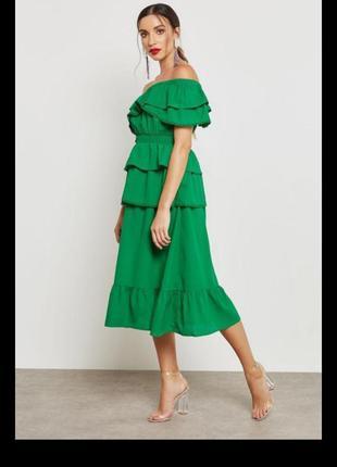 Яркое летнее платье lost ink