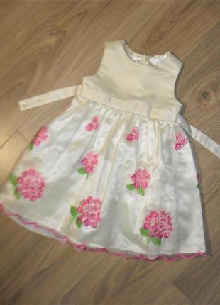 Нежное нарядное платье на 2годика