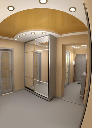 3d визуализация, мебель, оборудование,общественный интерьер