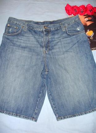 Мужские шорты джинсовые размер w40-42 w 40-42 размер 54 летние...