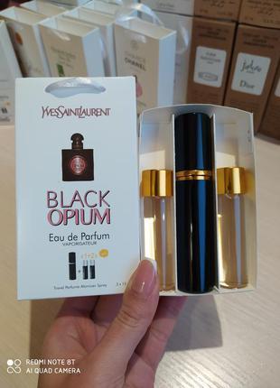Парфюм black opium 45мл
