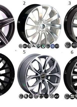 Легкосплавные диски колес ( R 13-22 ) титаны