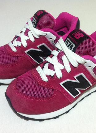 Мега стильные кроссовки new balance 574 👟  размер 27-28 оригин...