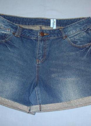 Женские шорты джинсовые размер 48 / 14 короткие летние модные ...